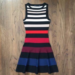 Karen Millen Stripe Bandage Dress